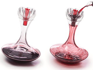 using a decanter